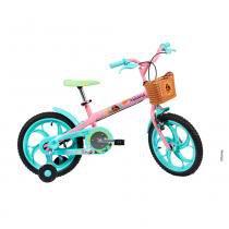 Bicicleta Moana - Disney - Aro 16 - Caloi -