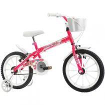 Bicicleta Monny C/Cesta Aro 16 Pink Track Bikes - Track Bikes