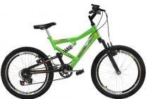 Bicicleta Mormaii Aro 20 Full FA240 6V Verde Neon - 2011862 -