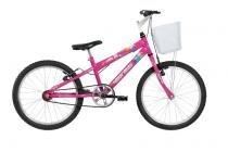 Bicicleta  Mormaii Aro 20 Sweet Girl - c/ cesta Rosa - 2011711 -