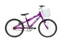 Bicicleta Mormaii Aro 20 Sweet Girl - c/ cesta Violeta - 2011712 -