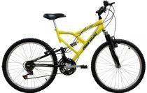 Bicicleta Mormaii Aro 24 Fullsion 18V Amarelo- 2011867 -