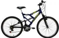 Bicicleta  Mormaii Aro 24 Fullsion 18VAzul - 2011868 -
