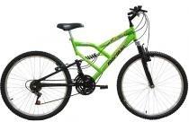 Bicicleta Mormaii   Aro 26 Fullsion 18VVerde Neon - 2011859 -