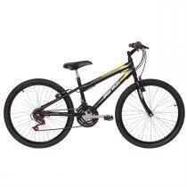 Bicicleta Mtb New Wave Aro 24 Preta Fosca 2011824 Mormaii - Mormaii