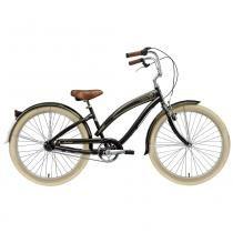 Bicicleta Nirve Classic Ladies Gloss Black 3 marchas - Nirve