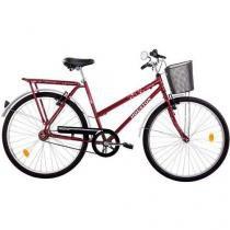 Bicicleta Onix VB Aro 26 Vermelha - Houston -