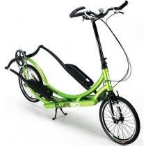 Bicicleta para Lazer e Performance Fitness Elíptico - ElliptiGo 8C Verde -