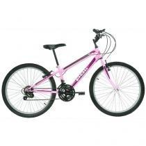 Bicicleta Polimet 7143 Aro 24 18 Marchas - Freio V-Brake