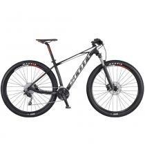 """Bicicleta SCOTT Scale 970 Preto  Branco  Vermelho 29"""" - L - Scott"""