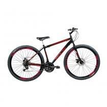 Bicicleta Sport Gold Aro 29 Mountain Bike Freio à Disco Quadro em Aço Carbono 21 Marchas KLS -