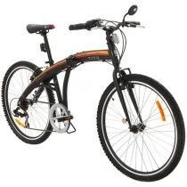 Bicicleta Tito To Go Dobrável Aro 26 7 Marchas - Câmbio Shimano Quadro Alumínio Freio V-brake