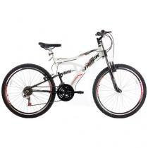 Bicicleta Track  Bikes Boxxer New Aro 26 - 21 Marchas Dupla Suspensão Freio V-brake
