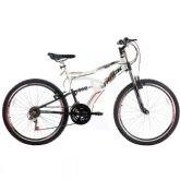 Bicicleta Track Bikes Boxxer New, Branca, Aro 26, 21 Marchas, Suspensão central - Track  Bikes