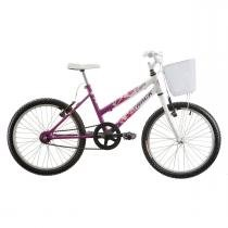 Bicicleta Track Bikes Cindy Aro 20 - Rosa/Branco - Track Bikes