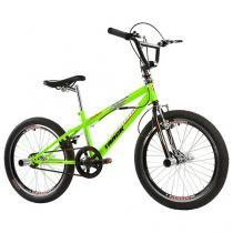 Bicicleta Track & Bikes Cross Freestyle Aro 20 - Quadro de Aço Downhill Freio V-Brake