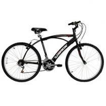 Bicicleta Track & Bikes Fast 100 Aro 26 21 Marchas - Quadro de Aço Freio V-Brake
