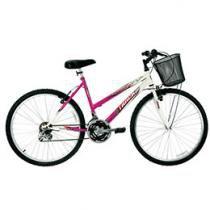 Bicicleta Track & Bikes Marbela Mountain Bike - Aro 26 18 Marchas Freios V-Brake