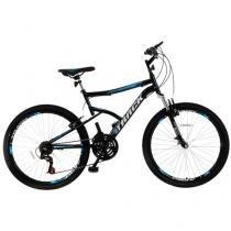 Bicicleta Track  Bikes Master Aro 26 21 Marchas - Suspensão Dianteira Quadro de Aço Freio V-Brake