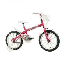 Bicicleta Track Bikes Monny Aro 16 - Rosa Neon - Track  Bikes