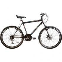 Bicicleta Track & Bikes MTB Captura Aro 26 - 21 Marchas Suspensão Dianteira