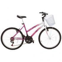 Bicicleta Track & Bikes Parati Aro 24 18 Marchas - Freio V-brake