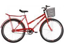 Bicicleta Track  Bikes Pratik Aro 26 - Quadro de Aço Freio V-Brake