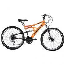 Bicicleta Track & Bikes TB 500 Aro 26 21 Marchas - Dupla Suspensão Quadro de Aço Freio à Disco