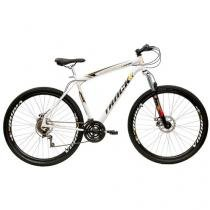 Bicicleta Track & Bikes TB Niner Aro 29 21 Marchas - Suspensão Dianteira Quadro de Aço Freio à Disco