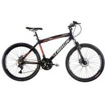 Bicicleta Track & Bikes TK 480 po Aro 26 - 21 Marchas Suspensão Dianteira Quadro Alumínio