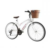 Bicicleta Track Bikes Week 200 Plus Aro 26 - Branco - Track Bikes