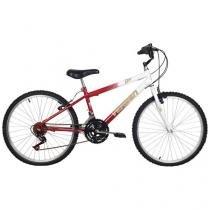 Bicicleta Verden Live Aro 24 18 Marchas - Quadro de Aço Freio V-Brake