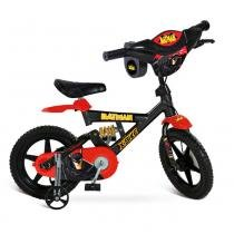 Bicicleta X-Bike Aro 12 Batman - Bandeirante - Batman