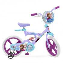 Bicicleta X-Bike Aro 14 - Disney Frozen - Bandeirante -
