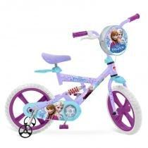 Bicicleta X-Bike Aro 14 - Disney Frozen - Bandeirante - Bandeirante