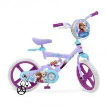 Bicicleta X-Bike aro 14 Frozen Disney Bandeirante - Bandeirante