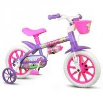 Bicicletinha Bicicleta Infantil Aro 12 - Nathor -