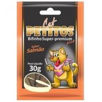 Bifinho petitos cat salmão 30 g -