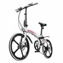 Bike dobravel pliage alloy branca - Two dogs