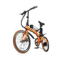 Bike Dobrável Pliage + kit elétrico twodogs Laranja - Two dogs