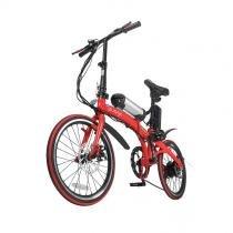 Bike Dobrável Pliage + kit elétrico twodogs Vermelho - Two dogs
