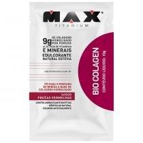 Bio Colagen 10 Sachês de 10g - Max Titanium - Frutas Vermelhas - Max Titanium