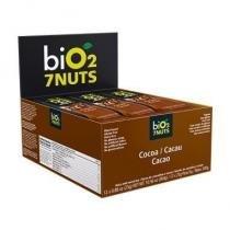 Bio2 7nuts Barra Cacau 12x25g (Kit C/06) -