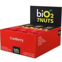Bio2 7nuts Cranberry Barra 12x25g (Kit C/03) -
