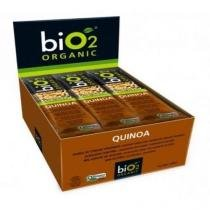 Bio2 Organic Quinoa Barra 12x25g -