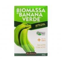 Biomassa de Banana Verde Integral 250gr La Pianezza -