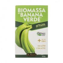 Biomassa de Banana Verde Integral Polpa + Casca - La Pianezza - Orgânico - 250g - La Pianezza