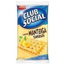 Biscoito Club Social Manteiga 23,5g c/6 - Nabisco -