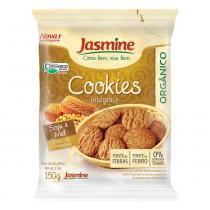 Biscoito Cookies Orgânico Soja Mel 150g - Jasmine -