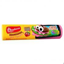 Biscoito Recheado Gulosos Morango 140g - Bauducco -